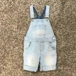 Genuine Kids Girls Shorts Overalls.